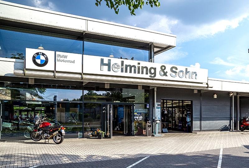 Helming & Sohn Motorradzentrum Ems-Vechte in Wietmarschen Lohne Gebäude