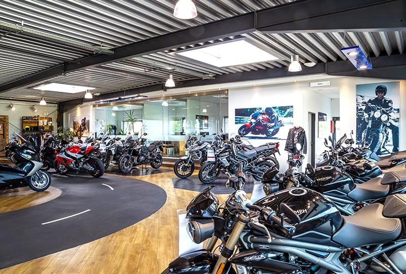 Helming & Sohn Motorradzentrum Ems-Vechte in Wietmarschen Lohne Showroom